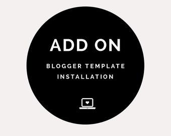 Blogger Template Installation: Easy and quick