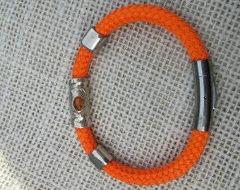 The Shosha Bracelet Orange with Amber stone