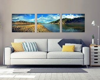 Landscape triptych wall art, landscape photography, landscape panoramic, three piece wall art