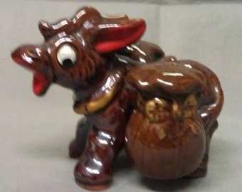 Donkey-Burro Salt and Pepper Shaker Set