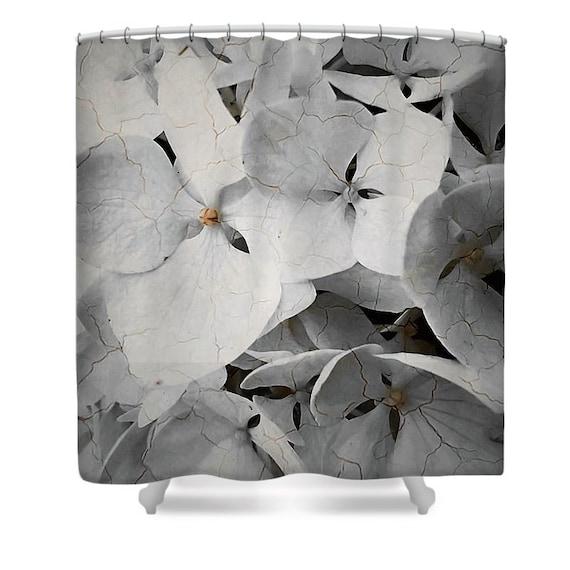 18 hydrangea shower curtain hydrangea fabric