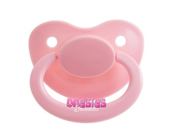 Adult Sized Baby Pink Pacifier/Dummy Nuk 6 For Adult Baby ABDL DDLG   Free Shipping WORLDWIDE