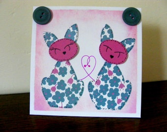 Greeting Card for the cat lover in your life!