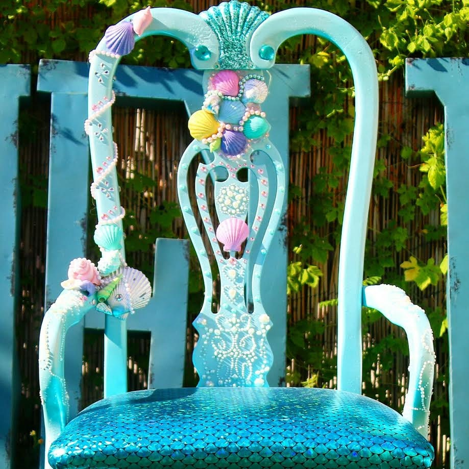 Little Mermaid Accent Chair Perfect For A Girl Room Full Of