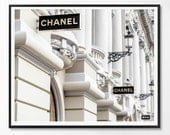 Chanel art printed Large Chanel wall art coco Chanel poster coco Chanel print coco Chanel wall art chanel Fashion Photo Photography