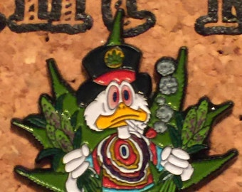 Wacky mc weed hat pin