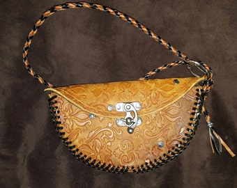 Leather Clutch Handbag Purse