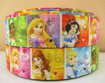 Disney Princess 1 inch Ribbon by the yard