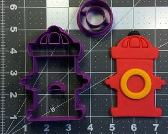 Fire Hydrant 101 Cookie Cutter Set