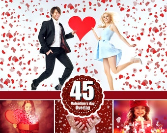45 Valentine Valentine's day Photo overlays, heart, love, romantic, wedding, wordart photoshop overlay, background, Heart Textures, png file
