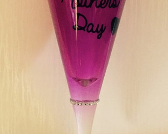 Mother's Day Glass