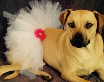 Dog tutu, dog Skirt, pet Tutu, Pet Outfit, Pink
