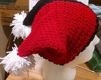 Free Crochet Joker Hat Pattern : Gallery For > Harley Quinn Jester Hat Pattern