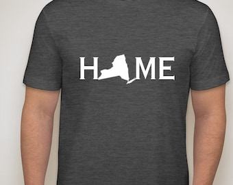 New York home t shirt, New York home, NY shirt, New York