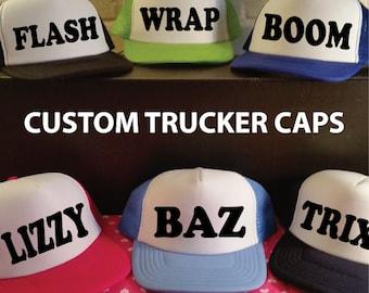 Custom Trucker Caps. Custom Bachelorette Party Hats. Custom Trucker Caps. Custom Hats. Hen Party Hats. Personalised Hats. Birthday Hats.