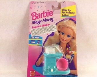 Vintage Barbie Popcorn Maker Magic Moves - Barbie Accessories