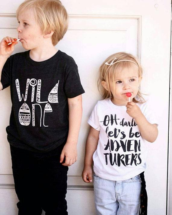 Adventure tshirt tank hipster kids clothes kids tee shirt