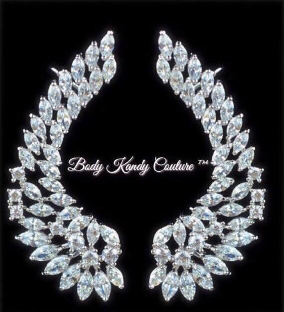 bodykandycouture swarovski crystal cuffs wedding