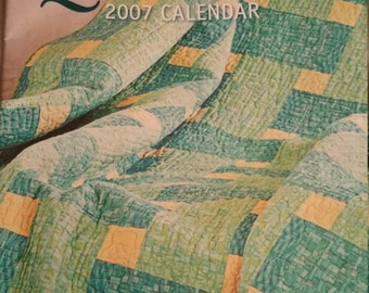 Quilting 2007 calendar by Better Homes and Gardens