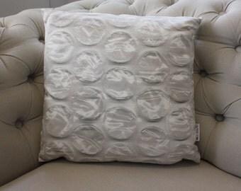 Bubblewrap Photographic Faux Suede Pillow Cushion