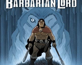Barbarian Lord graphic novel