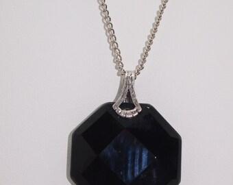 Black Onyx Necklace, Onyx Necklace, Black Necklace, Black Onyx Gemstone Necklace, Onyx Gemstone Necklace, Onyx Jewelry,Onyx Sterling Silver
