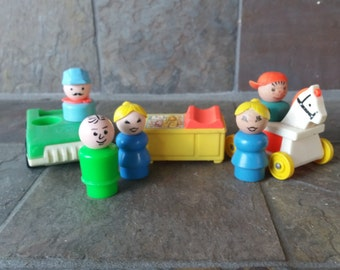 Fisher Price Little People pieces