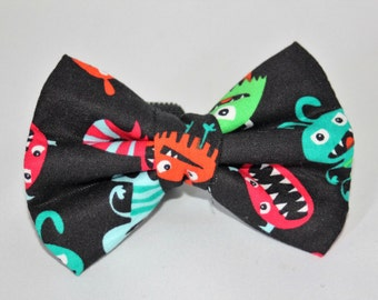 Girl Monster Tie Etsy