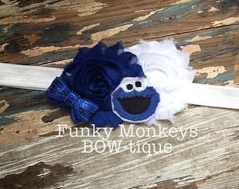 Cookie Monster headband