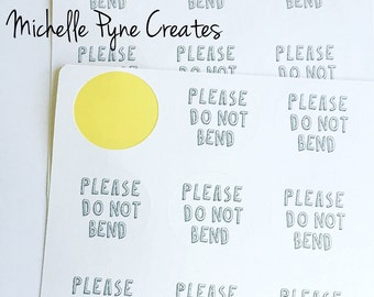 18 Please do not bend stickers, envelope stickers, envelope sealers, stickers