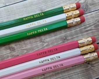 Kappa Delta Pencil Set