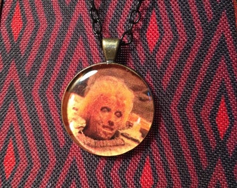 Friday the 13th Part 2 Mother Mrs. Voorhees pendant necklace Jason Horror