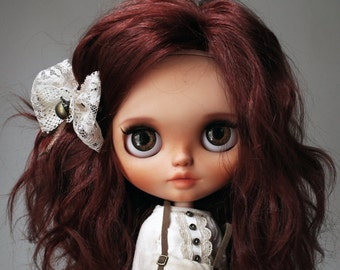REDUCED! Custom Blythe doll by KarolinFelix, OOAK Art doll