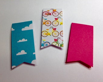 3 Pack Bicycle Magnetic Bookmark