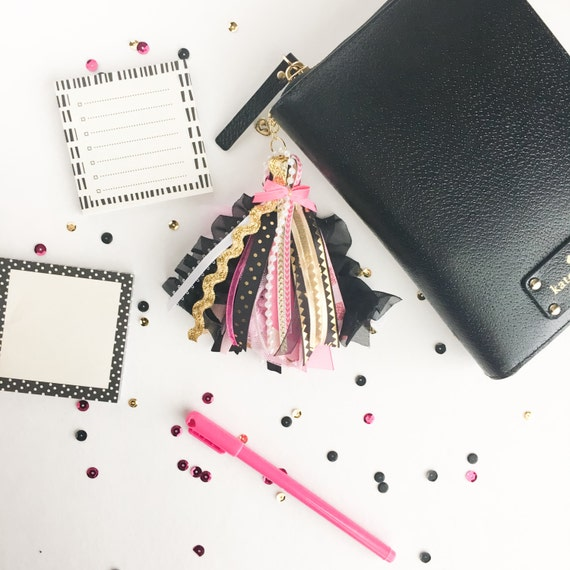 Items similar to planner charm planner tassel happy for Happy planner accessories