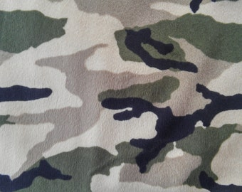 Design your own cloth pad,  Minky  Topped Made from Woodland Camo Colors Print
