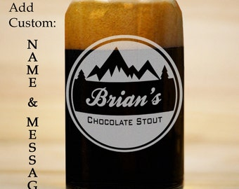 Personalized beer | Etsy
