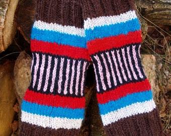 Leg warmers, wool leg warmers, handmade woolen leg warmers