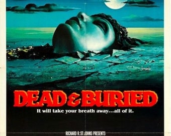 DEAD AND BURIED Movie Poster Horror