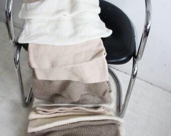 Hand Made Knitted Ripple Bed Runner, Kingsize.