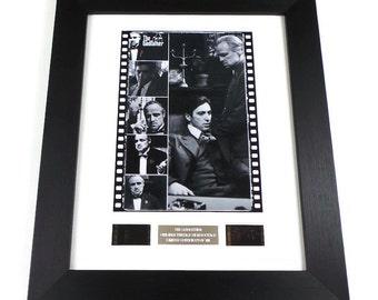 The Godfather Vintage Film Cells Memorabilia in Picture Frame
