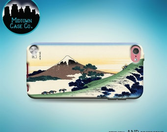 Inume Pass Hokusai Mount Fuji Japanese Art Rubber Case for iPod Touch 6th Gen Generation or iPod Touch 5th Gen