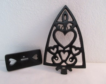 Vintage Cast Iron with Hearts