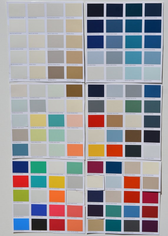 Custom Colors Nautical Paint Collection