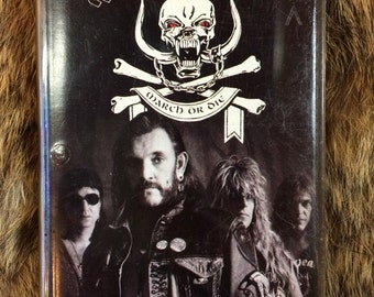 MOTORHEAD march or die tape 1992