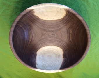 18'' American Black Walnut Salad Bowl