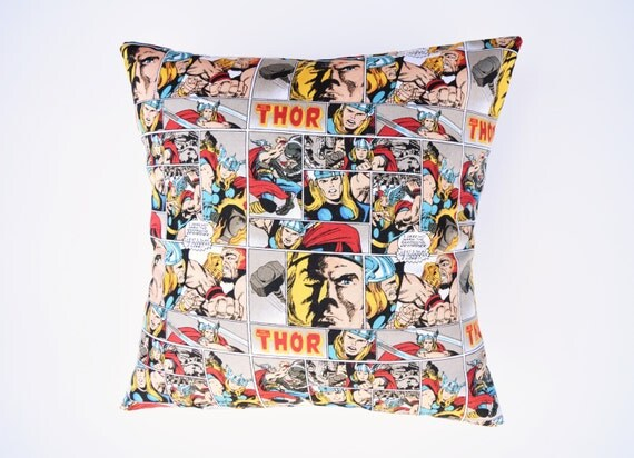 Thor Pillow Marvel Avengers Throw Pillow Avengers Pillow