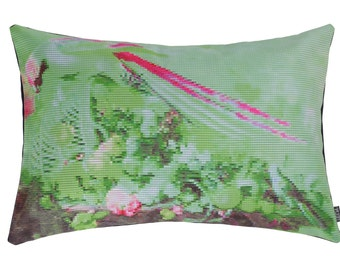 Cushion Still (A)life Parrot green 60x40 cm