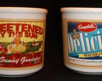 Campbell's Handled 12 oz Soup Bowl Mug Houston Harvest
