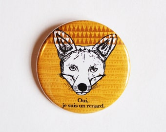 BADGE # Yes, I'm a Fox